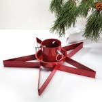 Christmas tree stands -and carpets